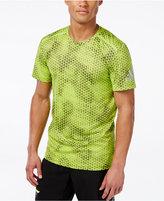 adidas Men's ClimaChill Melange Printed T-Shirt