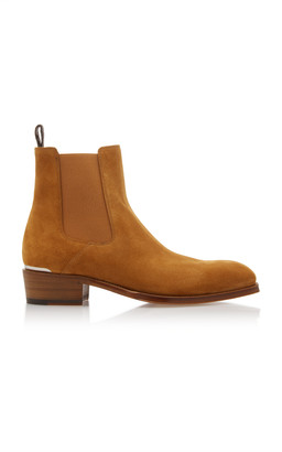 Alexander McQueen Suede Chelsea Boot