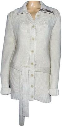 Leonard Ecru Wool Knitwear