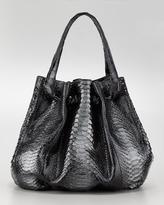 Python & Crocodile Knot Tote Bag