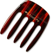 Buly 1803 - Horn-effect Acetate Pick Comb - Red