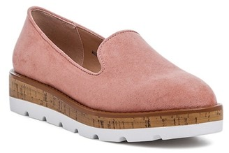 London Rag Achima Platform Loafer