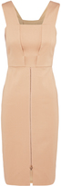 Oxford Bastille Stretch Dress Nude X