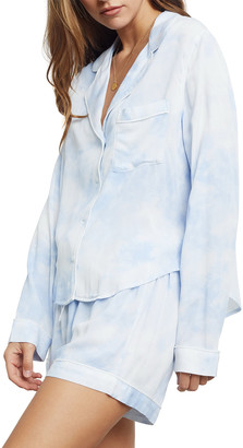 Rails Kellen Tie Dyed Long-Sleeve Short Pajama Set