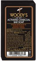 Woody's Activated Charcoal Bar Soap 92g