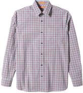 Joe Fresh Men's Essential Plaid Shirt, Dark Red (Size L)