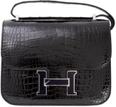Hermes Constance alligator handbag