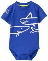 Gymboree Shark Bodysuit