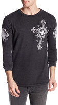 Affliction Lifeless Long Thermal Graphic Shirt