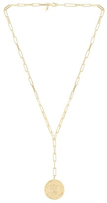 Gorjana Ana Coin Lariat Necklace