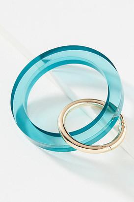 Key Ring Bracelet By Ink + Alloy in Blue