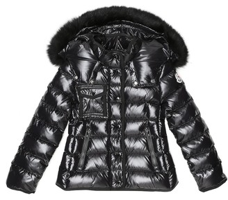 Moncler Enfant Armoise hooded down coat