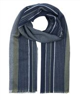 Wool Multi Stripe Scarf