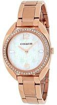 Coach Women's Sam Watch - Rose Gold