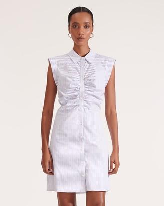 Veronica Beard Ferris Striped Dress