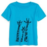 Kid Dangerous Infant Boy's 'Giraffes' T-Shirt
