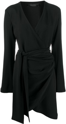 FEDERICA TOSI Asymmetric Wrap Dress
