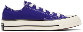 Converse Blue Chuck 70 Low Sneakers