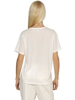 Stella McCartney Printed Organic Cotton Jersey T-Shirt