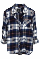Rails Hunter Flannel Shirt in Navy/Ivory