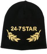 DSQUARED2 24-7 STAR logo beanie