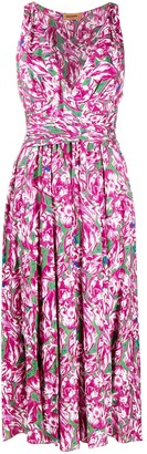 Missoni Floral-Print Midi Dress