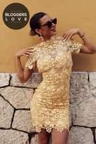 Paper Dolls Yellow Daisy Crochet Dress
