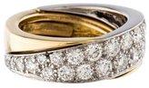 Tiffany & Co. Bi-Color Diamond Band