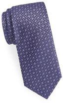 Saint Laurent Geometric Silk Tie