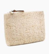 UGG Women's Medium Zip Pouch Sheepskin