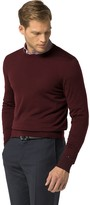 Tommy Hilfiger Tailored Collection Wool Crewneck Sweater