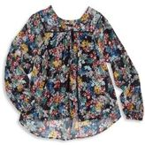 Ella Moss Girl's Floral Top