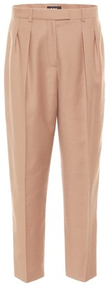A.P.C. Cheryl high-rise wool carrot pants