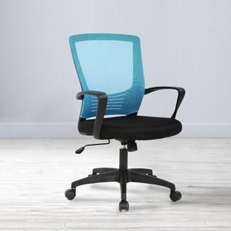 Symple Stuff Daniels Ergonomic Task Chair Frame Finish: Black/Blue