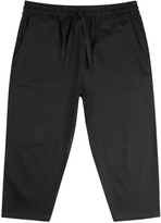 Blood Brother Shore Black Cropped Cotton Trousers