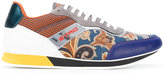 Etro printed sneakers - men - Leather/Nylon/rubber - 43