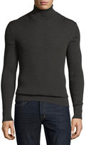 Tom Ford Merino-Silk Ribbed Turtleneck