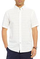Daniel Cremieux Sonoran Trails Solid Textured Short-Sleeve Woven Shirt
