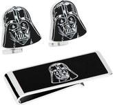 Cufflinks Inc. Men's Darth Vader Head Cufflinks and Money Clip Gift Set