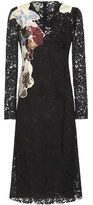 Valentino Lace Silk-blend Dress