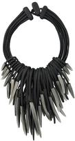 Monies shard multi strand necklace