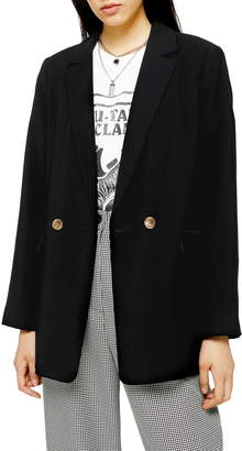 Topshop Millie Double Breasted Blazer