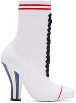Fendi - Bottes blanches Stretch Sock