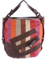Etro Multicolor Leather Hobo
