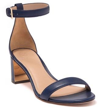 Tory Burch Cecile Mirrored Block Heel Sandal