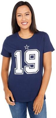 Dallas Cowboys Dallas Cowboys Nike Amari Cooper #19 Tee (Navy) Women's Clothing