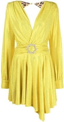 Philipp Plein Artemis crystal embellished mini dress