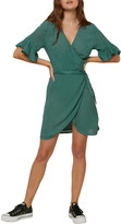 O'Neill Molly Short Sleeve Wrap Dress