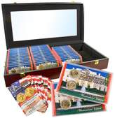 Coin Collector 2007-2016 Uncirculated P-Mint and D-Mint Presidential Dollars Set in Wooden Box
