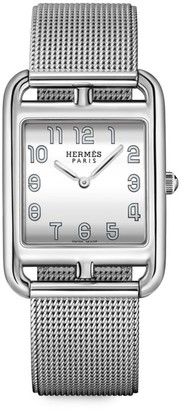 Hermes Cape Cod 29MM Stainless Steel Bracelet Watch